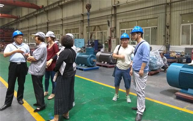 西安重型机械研究所领导参观国家级西玛电机实验中心