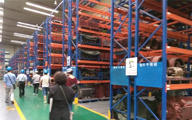 西重所潘工考察西玛电机集团总厂半成品库及仓储中心